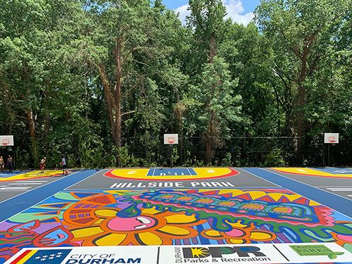 Hillside Park Basketball Courts