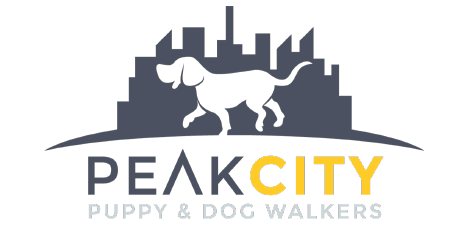 Peak City Puppy and Dog Walkers Logo