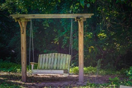 Carroll Street Park Bench Swing