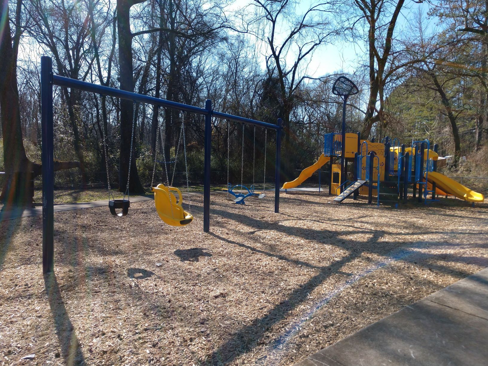 Drew Granby Park Play Equipment