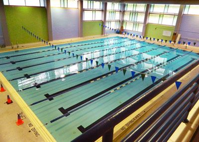 Swimming Lanes at Campus Hills Pool