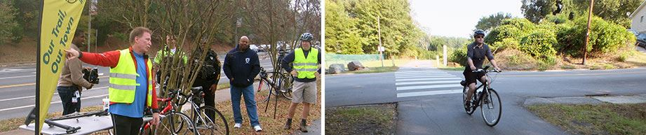 Durham Community Trail Watch Members at Event